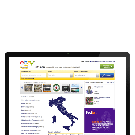 Ebayannunci screen