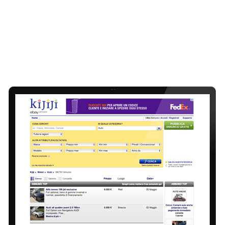 Kijiji screen