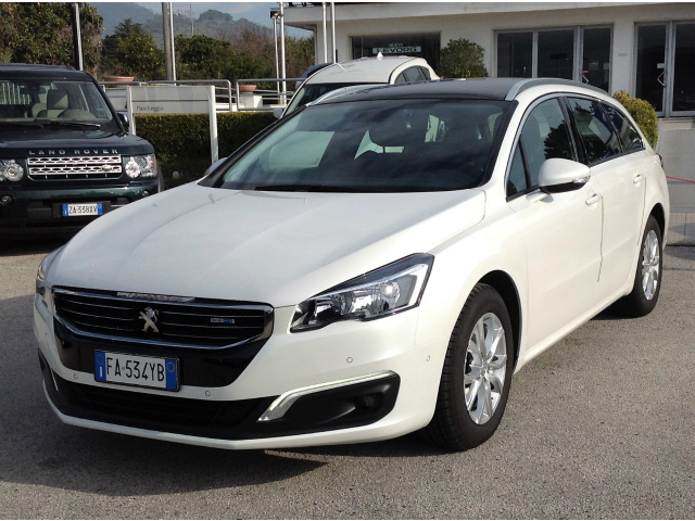 Peugeot 508 BlueHDi 120 EAT6 S SW Allure