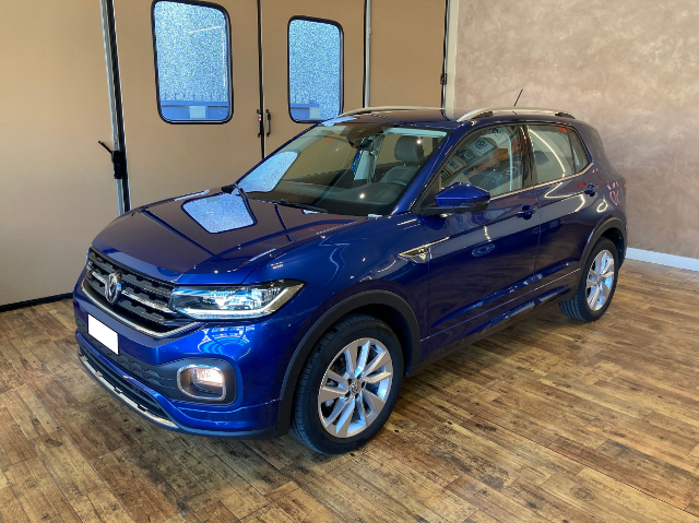 Volkswagen T-Cross 1.6 TDI ADVANCED R LINE  DSG 95CV #KM CERTIFICATI