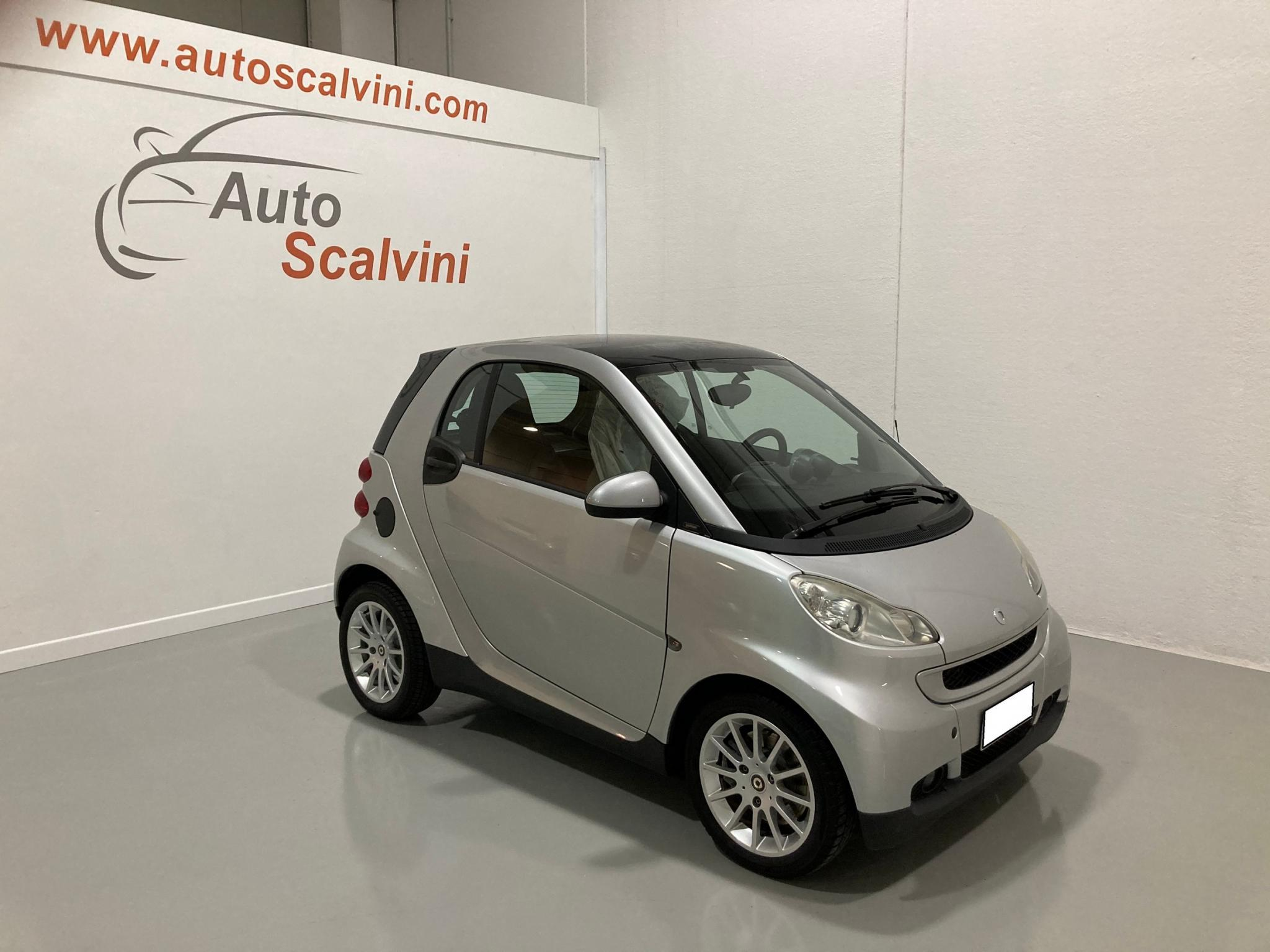 Smart ForTwo 1000 62 kW coupé passion #KM CERTIFICATI