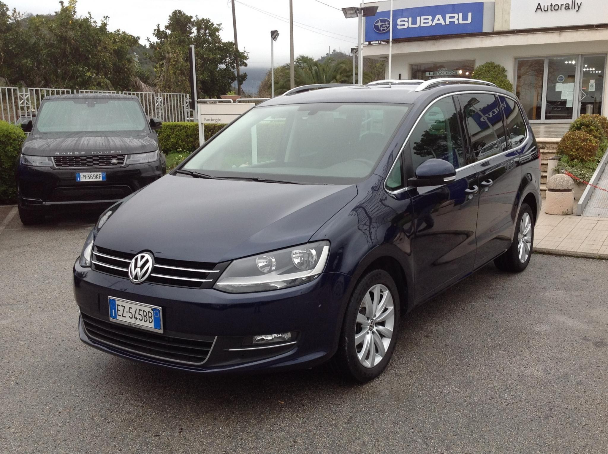 Volkswagen Sharan 2.0 TDI 177cv DGS 7 POSTI  Highline BlueMotion Technology Cambio Automatico
